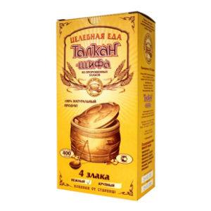 Купить Талкан (каша) 4 злака нежный