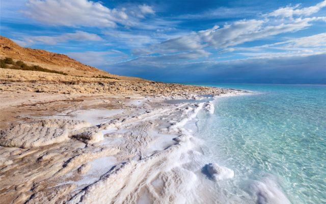 Лечение псориаза в Израиле на мёртвом море.