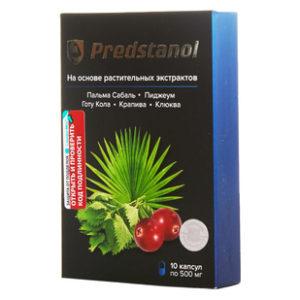 Купить Predstanol (предстанол, для предстательной железы, капсулы №10)