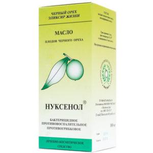 Купить Нуксенол - масло плодов черного ореха