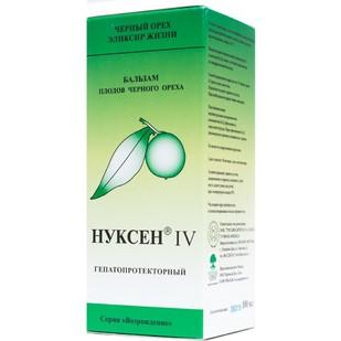 Купить Нуксен IV гепатопротекторный/желчегонный бальзам
