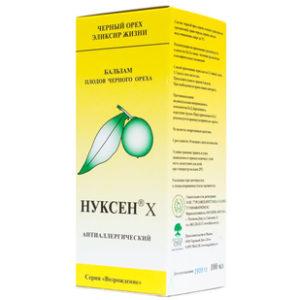 Купить Нуксен антиаллергический