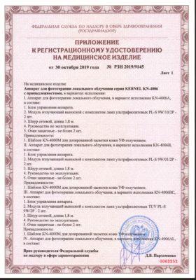 Сертификат Kernel KN 4006 стр 2