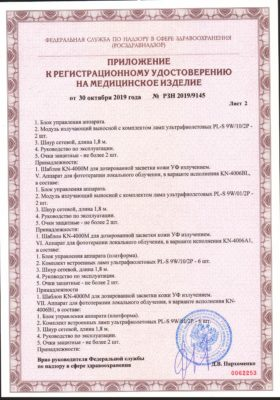 Сертификат Kernel KN 4006 стр 3