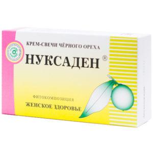 Купить Нуксаден Женское здоровье крем-свечи 10 шт