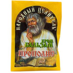 Купить Крем-бальзам с прополисом Народный Целитель