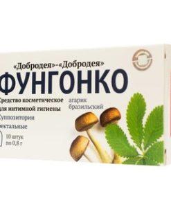 Купить Агарик бразильский - ректальные суппозитории фунгосвечи