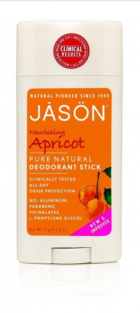 Купить Твердый дезодорант JASON «Абрикос» /питательный