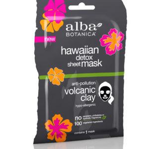 Купить Тканевая вулканическая гавайская маска ALBA BOTANICA для детоксикации