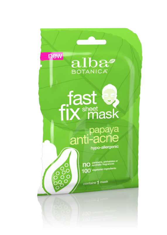 Купить Тканевая глубокоочищающая маска ALBA BOTANICA для проблемной кожи с папайя