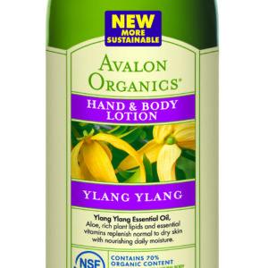 Купить Лосьон для рук и тела AVALON ORGANICS с маслом иланг - иланг