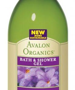 Купить Гель для ванны и душа AVALON ORGANICS с маслом лаванды