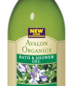 Купить Гель для ванны и душа AVALON ORGANICS с маслом розмарина