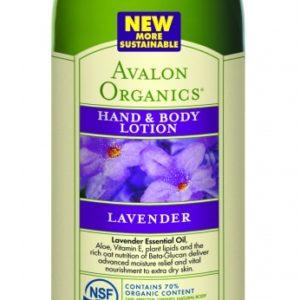 Купить Лосьон для рук и тела AVALON ORGANICS с маслом лаванды