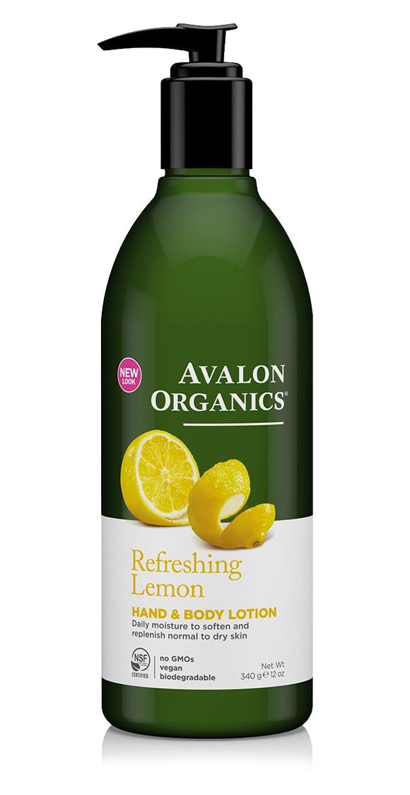 Купить Лосьон для рук и тела AVALON ORGANICS с маслом лимона