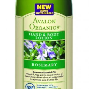 Купить Лосьон для рук и тела AVALON ORGANICS с маслом розмарина