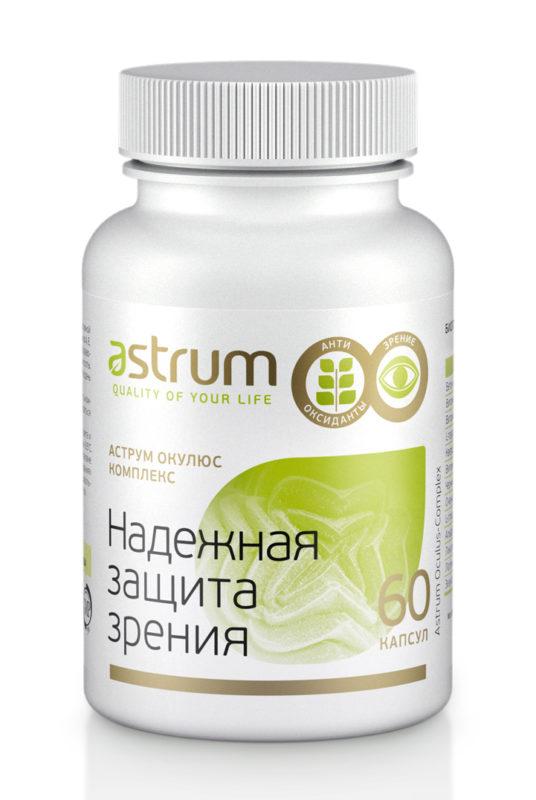 Купить Аструм Окулюс-Комплекс 60 капсул