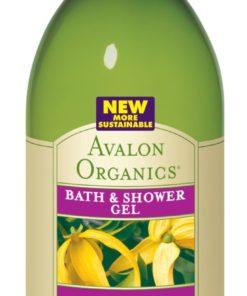 Купить Гель для ванны и душа AVALON ORGANICS с маслом иланг - иланг