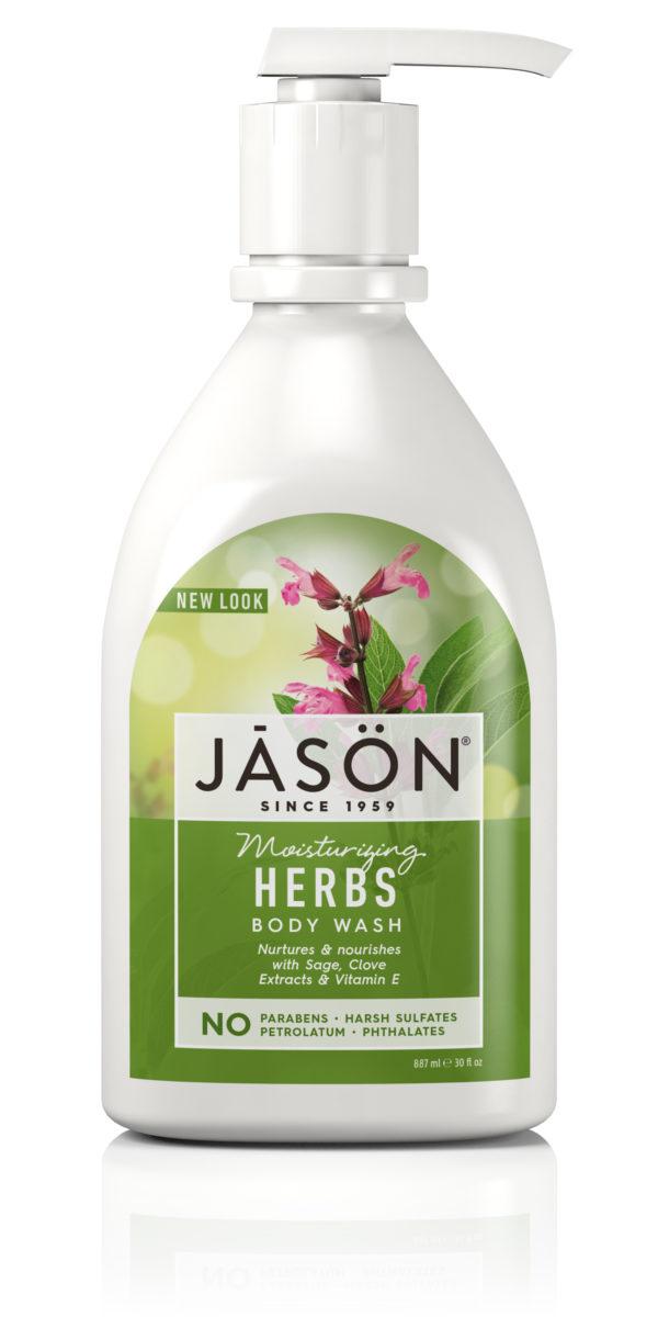 """Купить Гель для душа JASON """"Травы"""" /увлажняющий"""