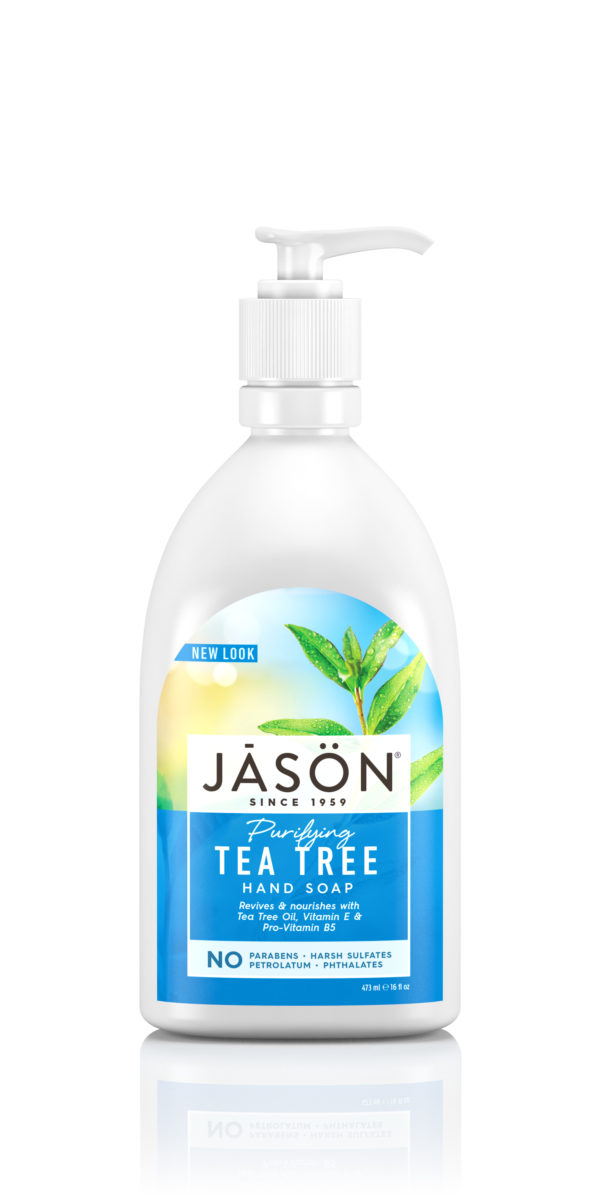 Купить Мыло для рук JASON «Чайное Дерево» /антибактериальное