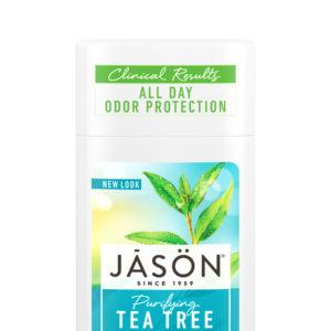 Купить Твердый дезодорант JASON «Чайное Дерево» /очищающий