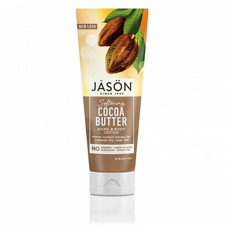 Смягчающий лосьон JASON с маслом какао