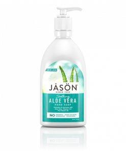 """Успокаивающее мыло для рук JASON """"Алоэ Вера"""""""