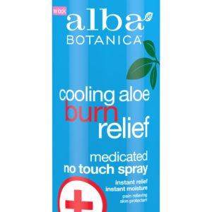 Купить Охлаждающий спрей ALBA BOTANICA после солнечных ожогов с алое