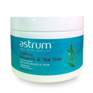 """Купить Минеральный гель ASTRUM с маслом """"Чайное дерево""""/обезболивающий/"""