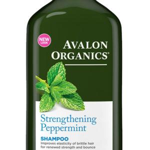 Купить Шампунь AVALON ORGANICS с маслом мяты, укрепляющий