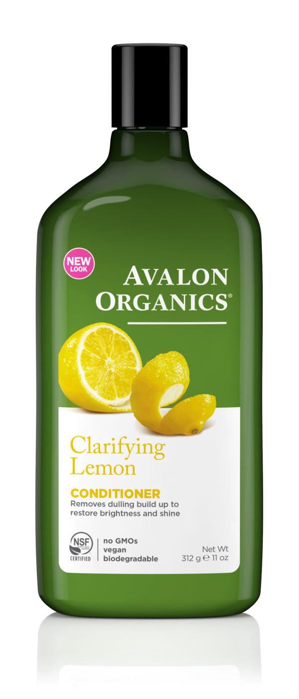 Купить Кондиционер AVALON ORGANICS с маслом лимона, для увеличения блеска