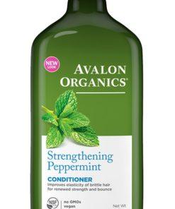 Купить Кондиционер AVALON ORGANICS с маслом мяты, укрепляющий