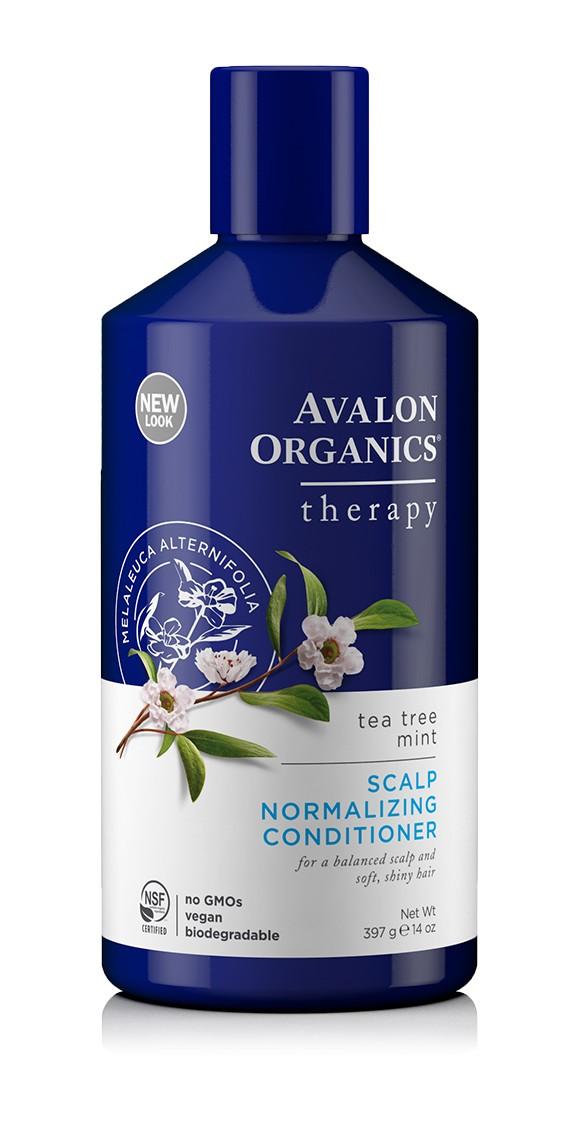 Купить Нормализующий кондиционер AVALON ORGANICS с маслом чайного дерева и мяты