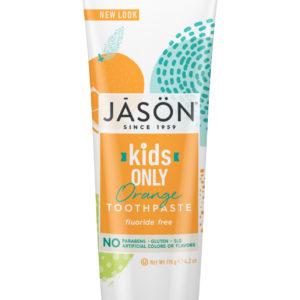 Купить Детская зубная паста JASON апельсиновая