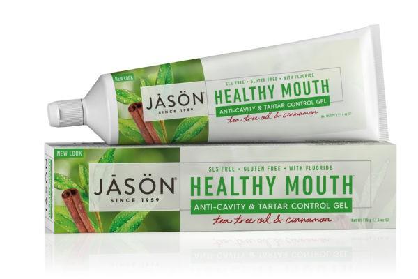"""Купить Гелевая зубная паста JASON """"Чайное дерево против парадонтоза"""