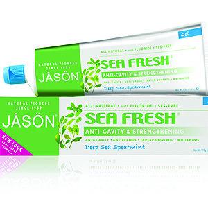 Купить Гелевая зубная паста JASON «Морская свежесть» с фтором и CoQ10