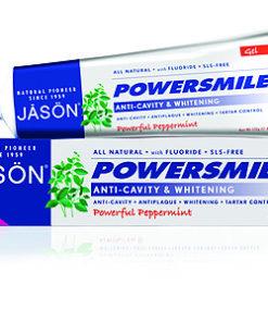 Купить Натуральная гелевая зубная паста JASON «Сила улыбки», отбеливающая с фтором и CoQ10