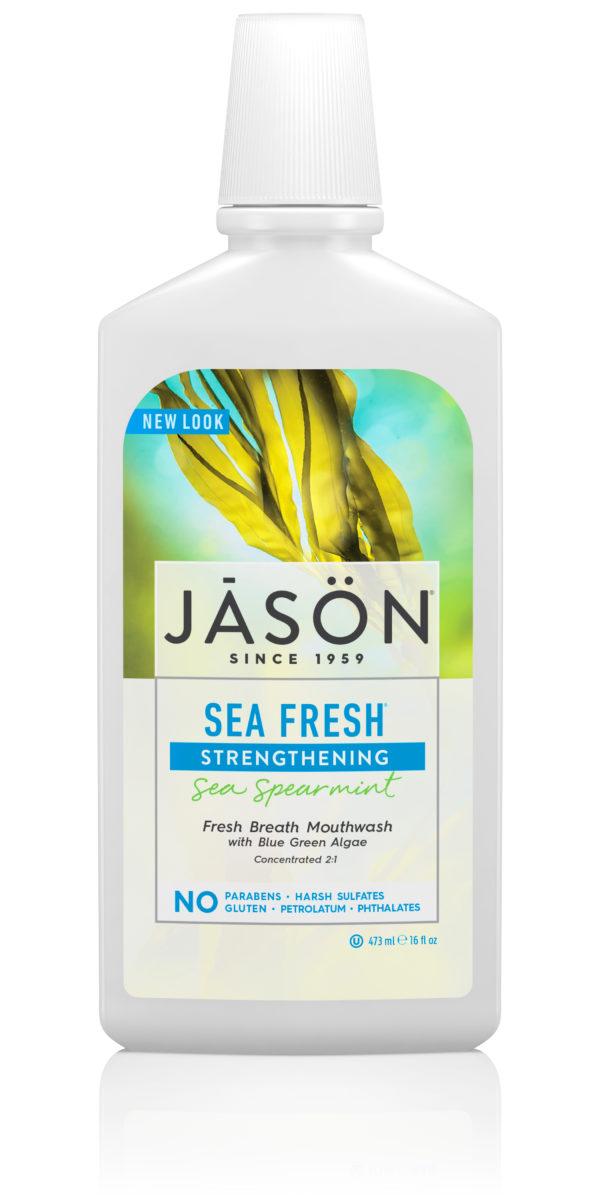 Купить Морской ополаскиватель для полости рта JASON с мятой