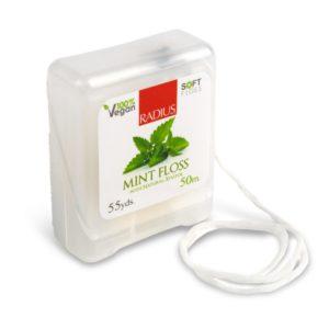 Купить Натуральная шелковая зубная нить со вкусом мяты