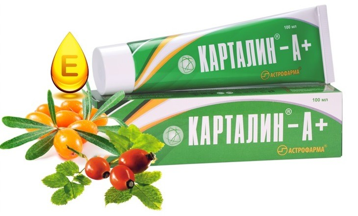 Купить крем Карталин А+ плюс в магазине Витимед