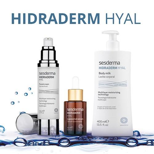 Купить косметические средства линейки Hidraderm Hyal в магазине Витимед