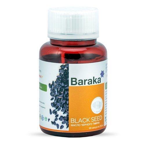 Диабсол масло черного тмина Барака в капсулах, 90 капсул
