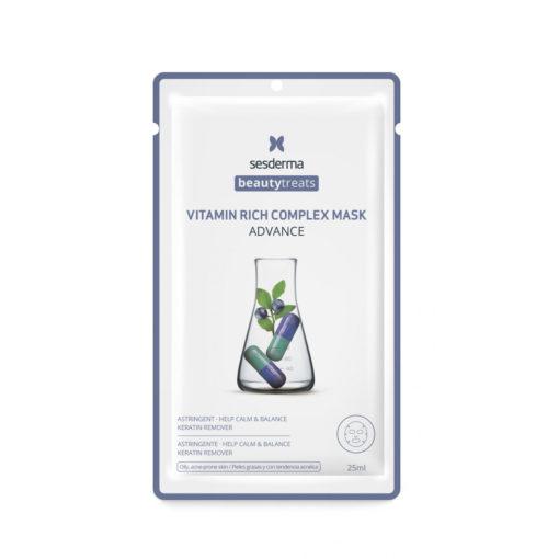 Маска для сияния кожи Vitamin rich complex mask