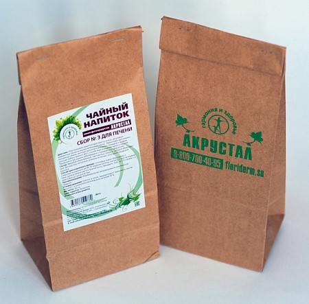 Чайный напиток Акрустал Для печени 2