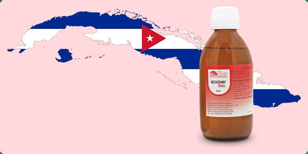 Кубинский Мелагенин плюс