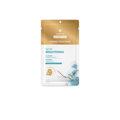 Sesderma BeautyTreats Shining Gold Mask Тканевая маска для выравнивания тона и сияния кожи 25 мл